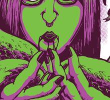 Snake Girl - She's Venomous Sticker