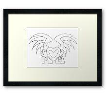 Evil Angel Framed Print
