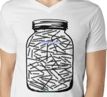 My Jar of Souls Mens V-Neck T-Shirt