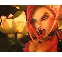 Benz The Angry Chocmool -Guardian Witch Photographic Print