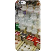 Just Candles - Shop Display iPhone Case/Skin