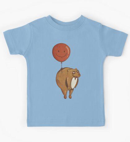 Float On, Bear, Float On Kids Tee