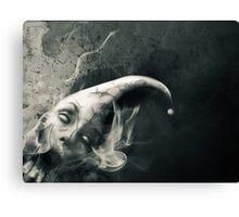 The Silent Joker Canvas Print