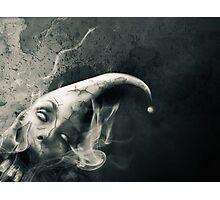 The Silent Joker Photographic Print