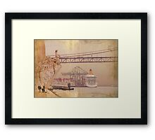 Henry the Navigator and the river Framed Print