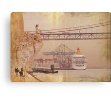 Henry the Navigator and the river Canvas Print