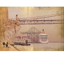 Henry the Navigator and the river Photographic Print