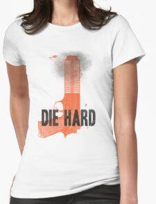 Die Hard Womens Fitted T-Shirt
