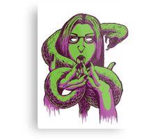 Snake Girl Metal Print