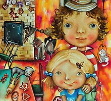 Hansel and Gretel by Monica Blatton