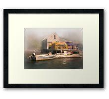 Cozy Harbor #5 Framed Print