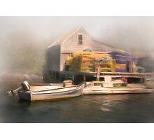 Cozy Harbor #5 Photographic Print