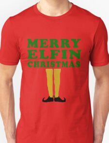 MERRY ELFIN CHRISTMAS Unisex T-Shirt