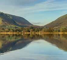 Grasmere Panorama by Jamie  Green