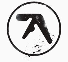 Aphex Twin grafitti (black) by SFC-Guy
