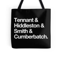Middle-aged British Liferuiners Tote Bag