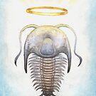 Trilobite Jesus by elykpaint