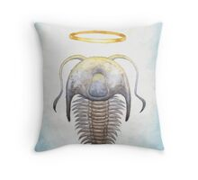 Trilobite Jesus Throw Pillow