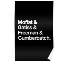 BBC Sherlock Boys Poster