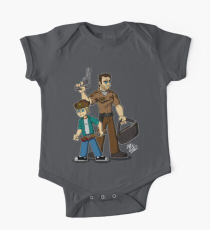 Rick & Carl Grimes One Piece - Short Sleeve