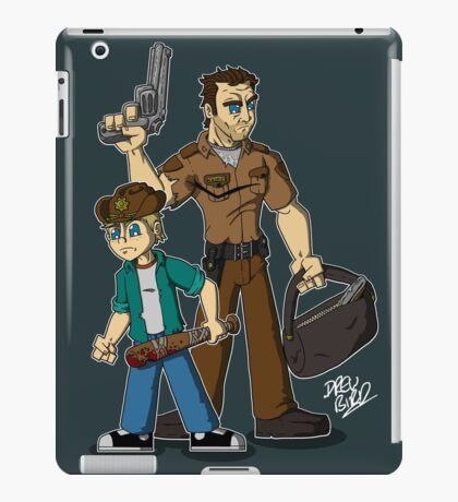 Rick & Carl Grimes iPad Case/Skin