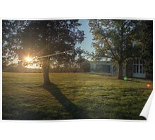 Campus Sunflare Poster