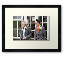 Tina and Andy 4 Framed Print