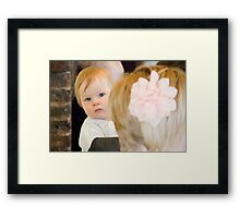 Tina and Andy 41 Framed Print