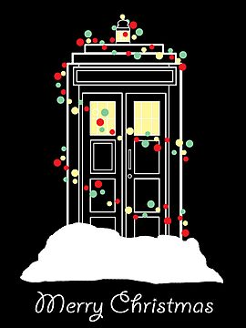 Christmas Tardis 2 by Nados