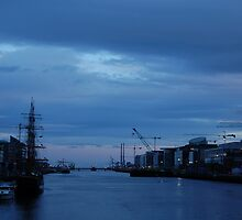 Liffey at Dusk by Iain McGillivray