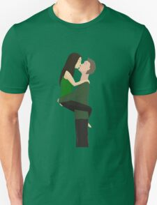 couple ardently kisses T-Shirt