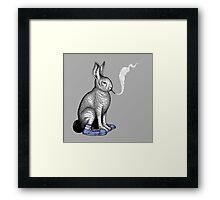 Carrot Smoke Trick Framed Print