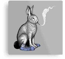 Carrot Smoke Trick Metal Print