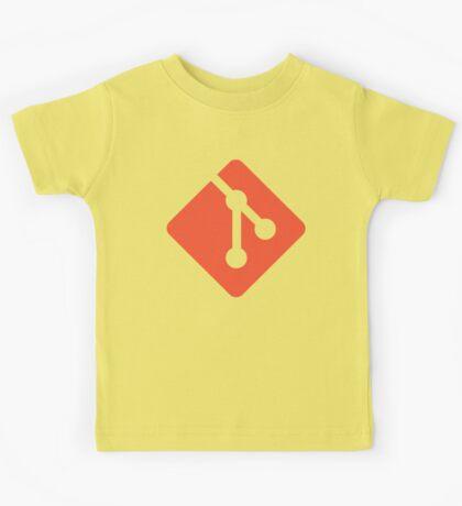 Git - Red logo Kids Tee