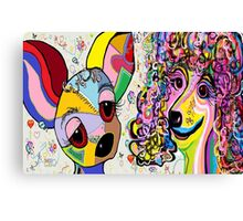 PLAYFUL PETS Canvas Print