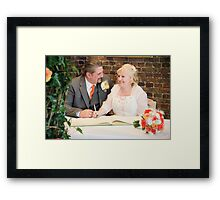 Tina and Andy 107 Framed Print
