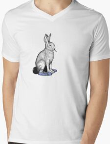 Carrot Smoke Trick Mens V-Neck T-Shirt