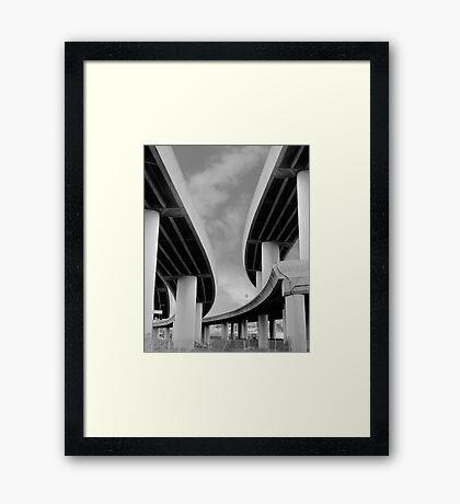 Steel & Sky II Framed Print