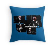 Payday 2 Throw Pillow