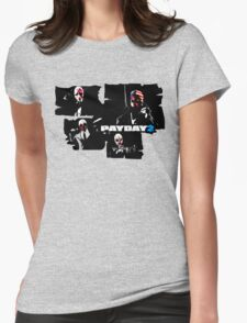 Payday 2 Womens Fitted T-Shirt