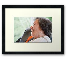 Tina and Andy 162 Framed Print