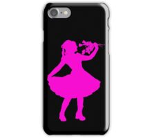 Oh Honey, You KNEW!! (Pink Silhouette 2) iPhone Case/Skin