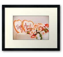 Tina and Andy 184 Framed Print