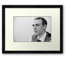 Tina and Andy 190 Framed Print