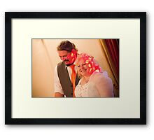 Tina and Andy 257 Framed Print