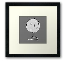 A Cats' Wandering Place Framed Print