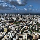 Tel Aviv center by Ronsho