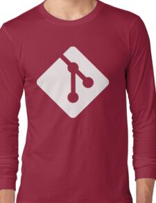 Git - White logo T-Shirt