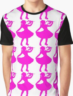 Oh Honey, You KNEW!! (Pink Silhouette 1) Graphic T-Shirt