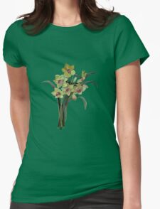 Lent Lily Isolated Womens Fitted T-Shirt